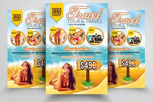Tour & Travel Company Flyers