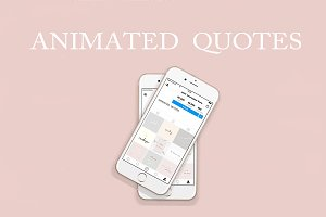 ANIMATED HANDWRITTEN QUOTES