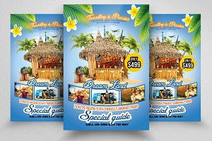 Travelling Agency Promotion Flyer