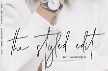 The Styled Edit- Chic Ligature Font