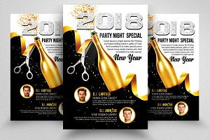 New Years Flyer / Poster Template