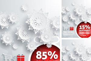 Merry Christmas background discount
