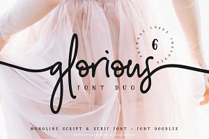Glorious Font Duo + Extras