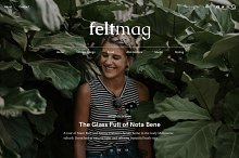 Felt - Magazine Style Theme by  in WordPress