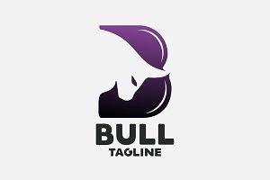 Bull B Letter Logo