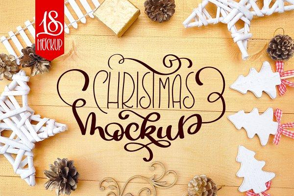 Christmas Mock Up Collection 3