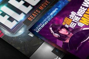 A3, Horizontal Poster Mockup Closeup