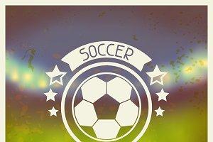Soccer labels.