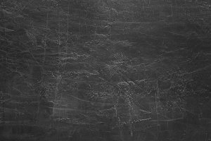 Clean chalk board surface