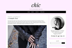 Chic - Pre-made Blogger Template