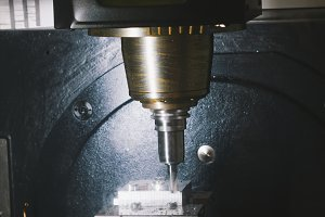 Process of metal working and machine manufacturing - automotive drilling