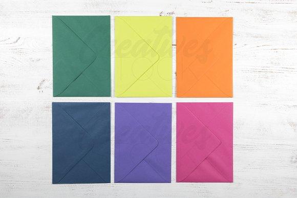5x7 Envelope Mockup