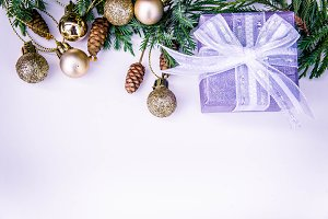 gifts box christmas background