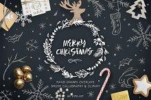 Christmas Clip Art & Lettering