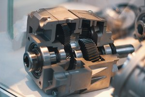 Engine motor - auto automotive industrial background