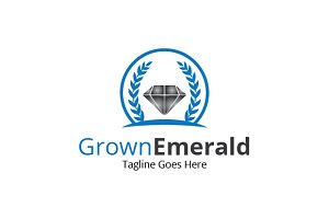 Grown Emerald Logo