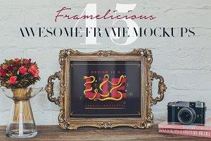 Framelicious! 45 Frame Mockups