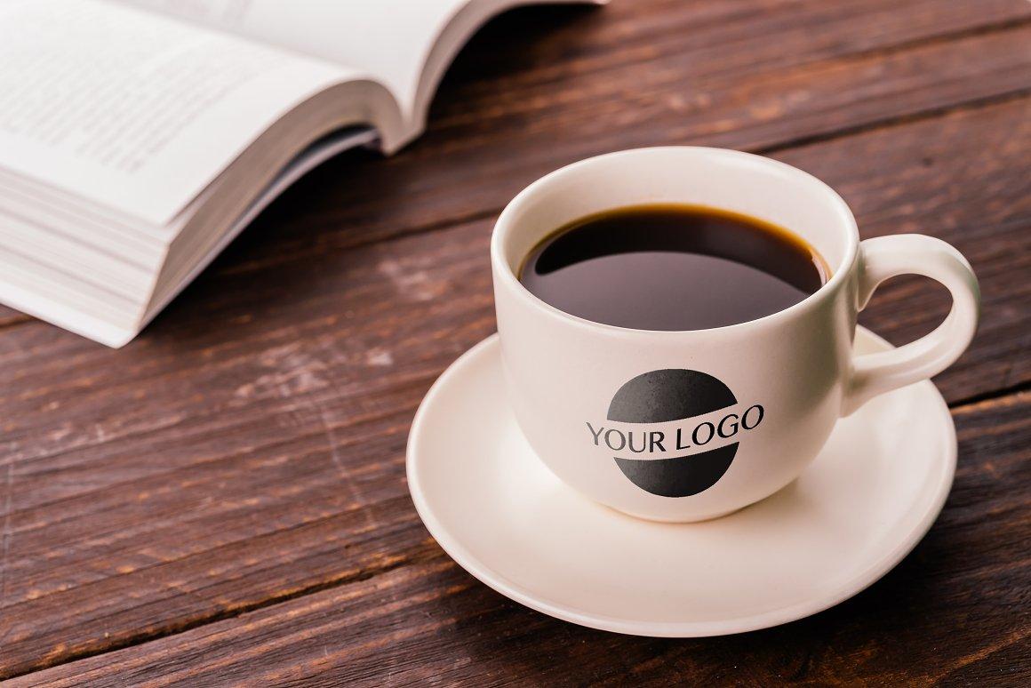 Espresso Cup Mockup - Product Mockups