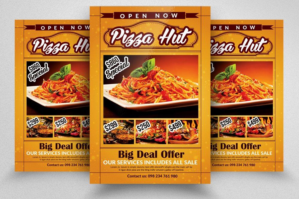 10 Restaurant Flyer Templates Bundle Flyer Templates Creative Market