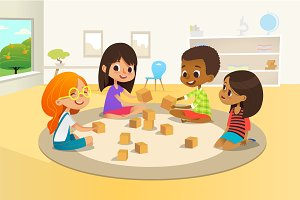 Preschool  kindergarten activity