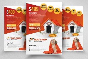 Pet Shop Service Flyer