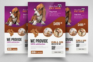 Pet Homes Flyer Template