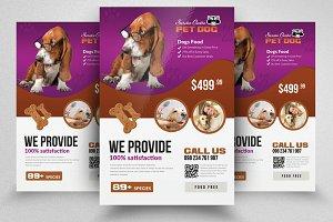 Pet Homes Flyer Template