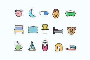 15 Sleep Icons