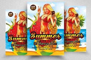 Summer Fun Flyer