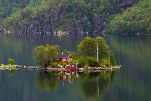 Dream house on the lake