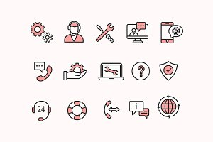 15 Tech Support Icons