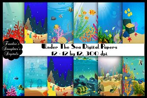 Under the Sea Digital Papers