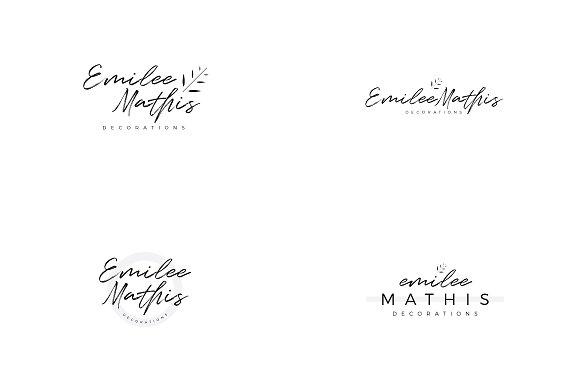 Emilee Mathis Logo