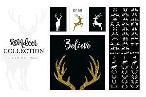 Hello Deer Logo & Holiday Font