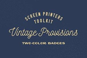 Screen Printers Kit – Vintage Badges