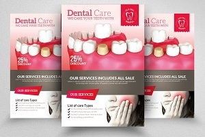 Dental Care Flyer Templates