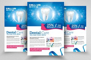 Dental Care Clinic Flyers