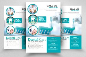 Dentist Flyer Templates