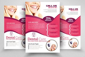 Dental Clinic Flyer Templates