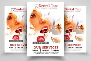 Dental care Center Flyer