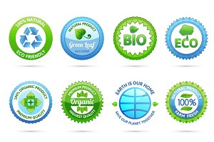 Ecology labels set