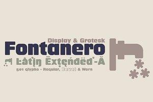 Fontanero -3 fonts-