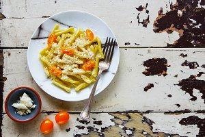 Vegeterian italian pasta