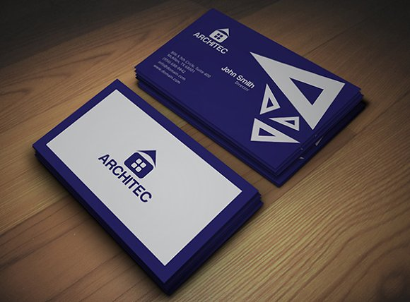 Architecture Business Card - Business Cards