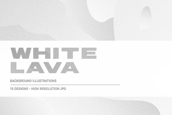 White Lava - Background Textures