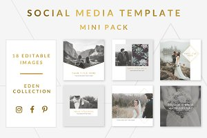 Social Media Templates Mini Pack