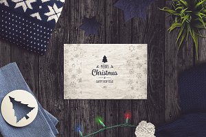 Christmas Card Mock-up #1