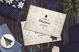 Christmas Card Mock-up #4
