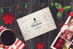 Christmas Card Mock-up #7