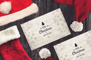 Christmas Card Mock-up #9